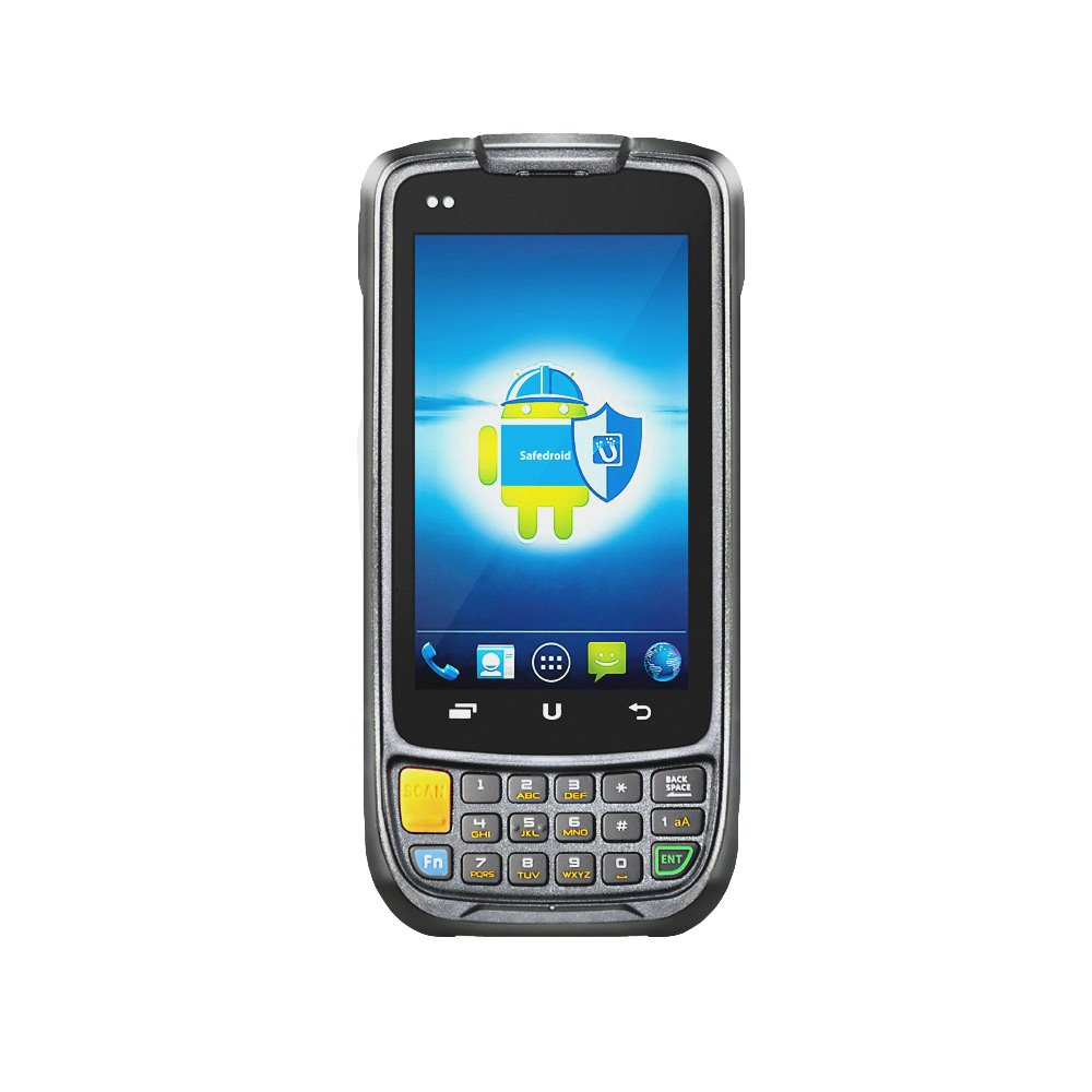 Cruiser@ Ultra Rugged Warehouse Inventory Scanner Data Terminal, Android 5.1 / Zebra Omnidirectional 1D 2D QR Barcode Engine, Touch Panel, 802.11b/g/n