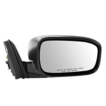 Black Power HONDA ACCORD 03-07 SIDE MIRROR RIGHT PASSENGER Coupe Foldaway