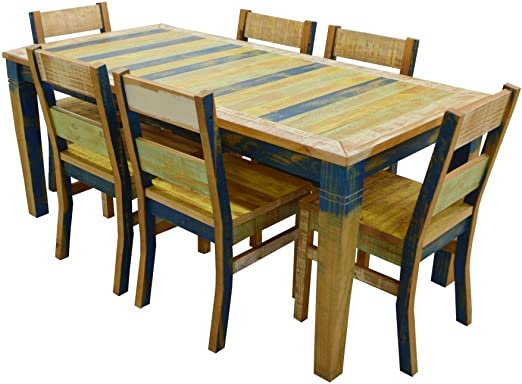 The Beach House Design Sunrise Collection Dining Set: 1 71\