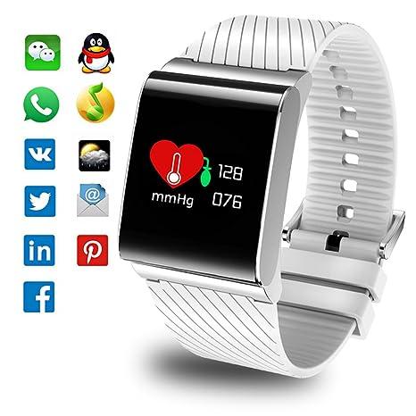 Fitness Trackers, pulsera inteligente con monitor de ritmo ...