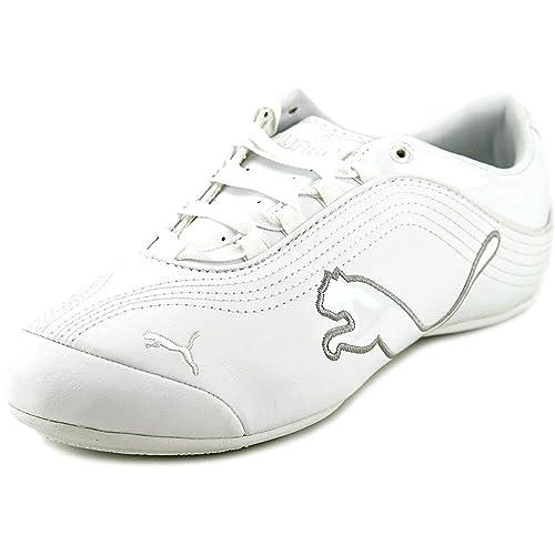 a1078753132 Puma Soleil Cat P Women US Size 8.5 White Sneakers  Amazon.ca  Shoes    Handbags