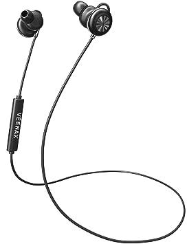 VEENAX Pogo Auriculares Magnético Bluetooth, Cascos Inalámbricos ...