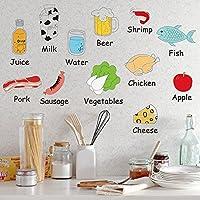 Wallpark Dibujos Animados Lindo Comida Vegetales/Frutas/Carnes ...