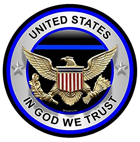 United-States-In-God-We-Trust-Thin-Blue-Line-Support-Decal-Sticker-Sticker-Graphic-Auto-Wall-Laptop-Cell-Auto-Wall-Laptop-Cell-Phone-Notebook-Bumper-Window-Truck