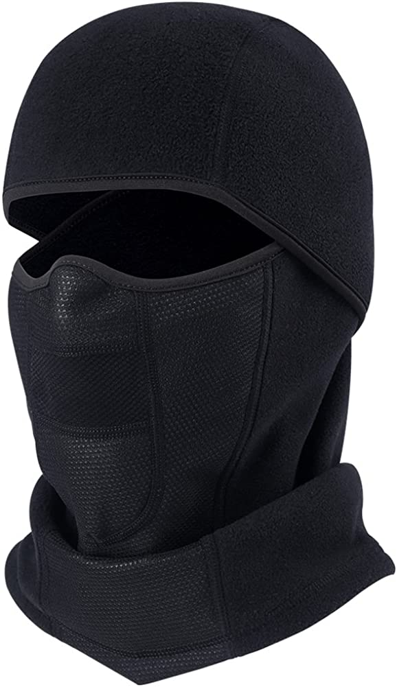 Balaclava Ski Mask Full Face Cover Windproof Hood for Cold Winter Weather Camo