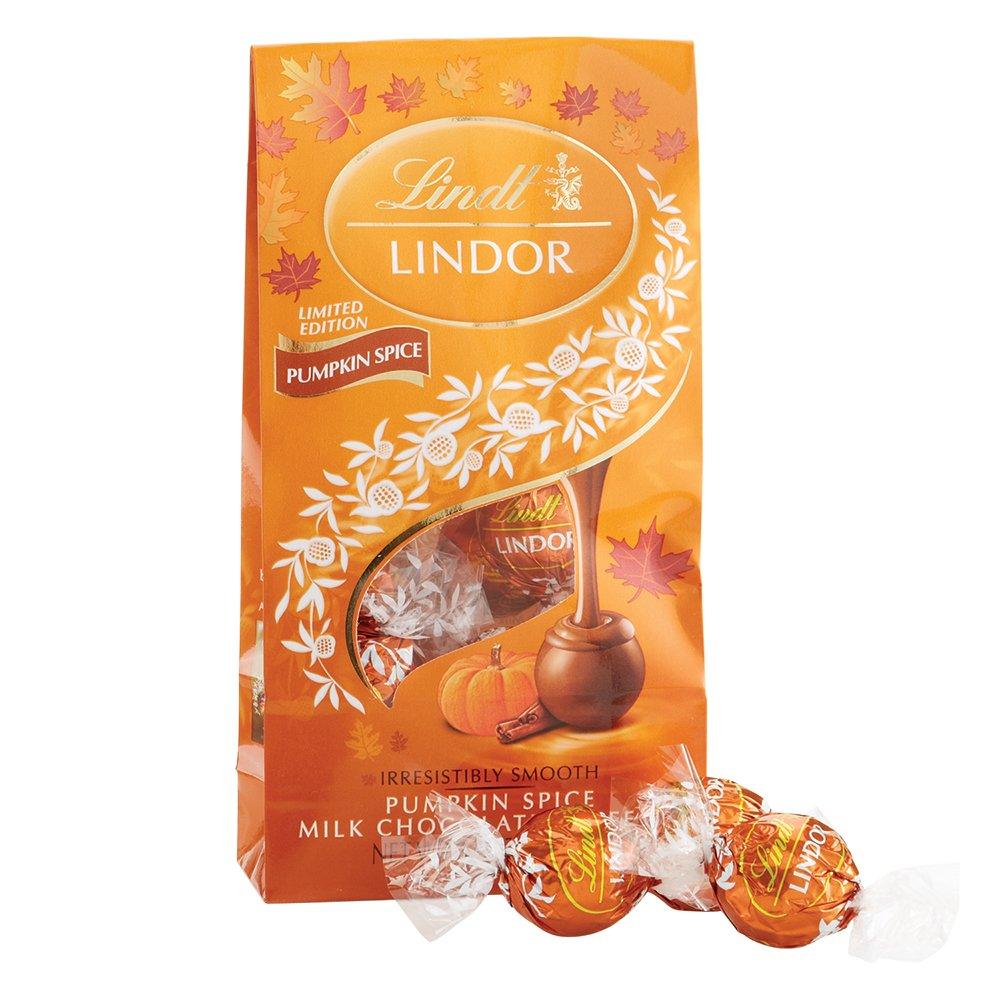 Amazon.com : Lindor Chocolate Bag, Pumpkin Spice, 5.1 Ounce (Pack ...