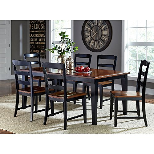 Hillsdale Furniture 5505DTBC7 Avalon 7 PC Dining Set