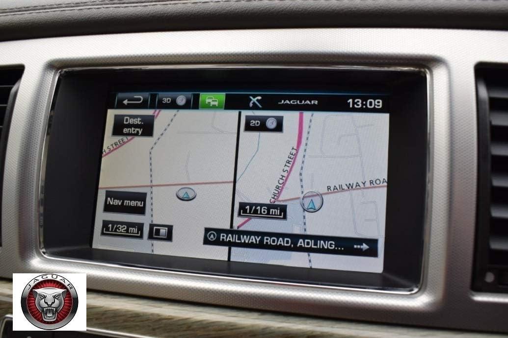 Jaguar XF//XK 2020 v1 Set DE ACTUALIZACI/ÓN del Mapa DE NAVEGACI/ÓN por SAT/ÉLITE Europeo