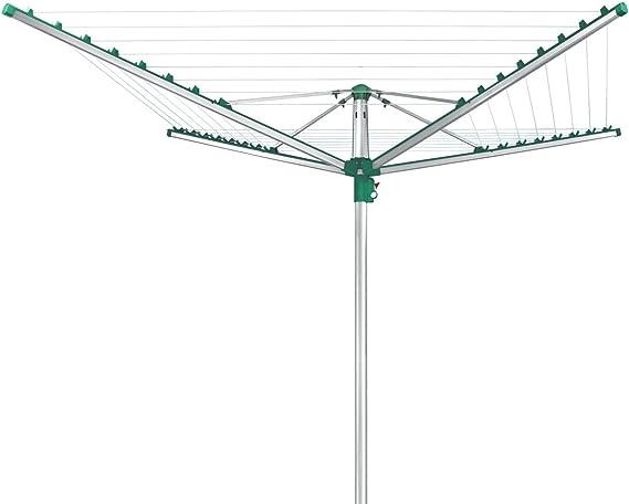 Leifheit Linomatic 400 Comfort Tendedero, Verde, 40 m: Amazon.es: Hogar