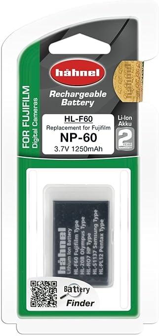 Hähnel Hl F60 Li Polymer Ersatzakku 3 7v 1250mah Kamera