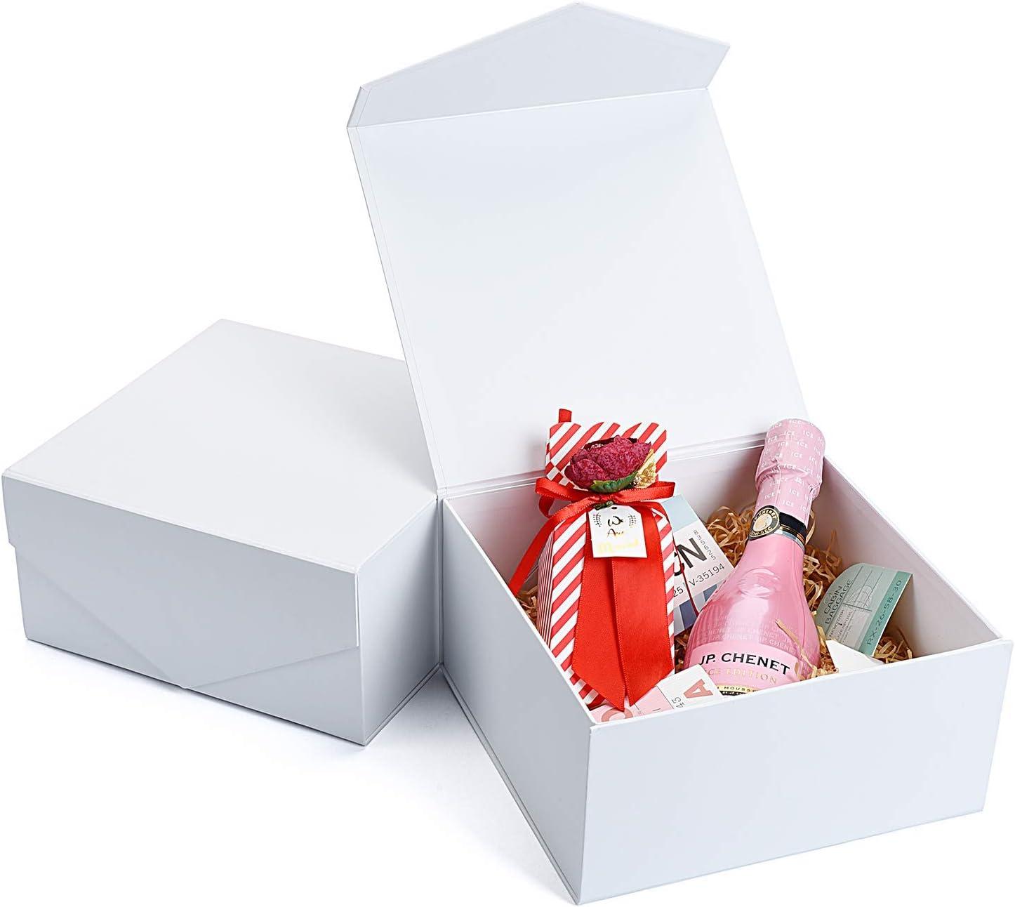 personalized bridesmaid proposal gift box  bridesmaid thank you gift  small white gift box