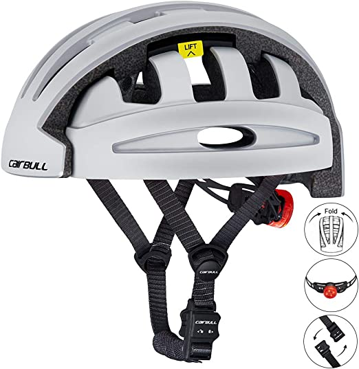 DishyKooker Casco de Bicicleta Plegable City and Commuter Sharing ...