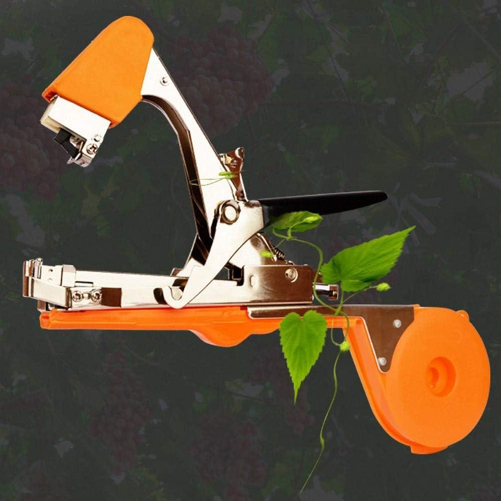 XD7 - Máquina de atado de viñedos, herramienta de viñedos para jardín, cinta para atar plantas y plantas de jardín con 12 rollos de cinta: Amazon.es: Jardín