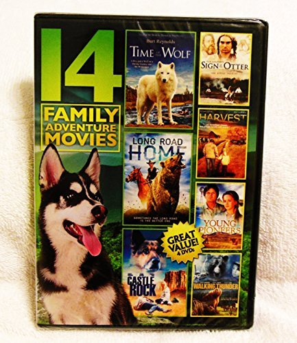 14 Family Adventure Movies~Time of the Wolf, Harvest, Castle Rock, Daughters of Joshua Cabe, Long Road Home & - Rock Castle Outlets