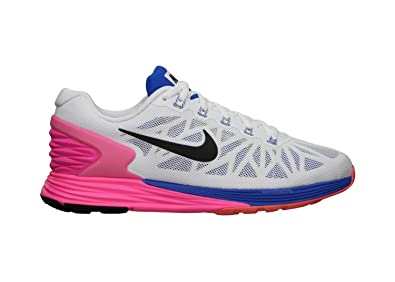 Nike Womens Lunarglide 6 Running Trainers 654434 101 Sneakers Shoes ... ac96b42ec109
