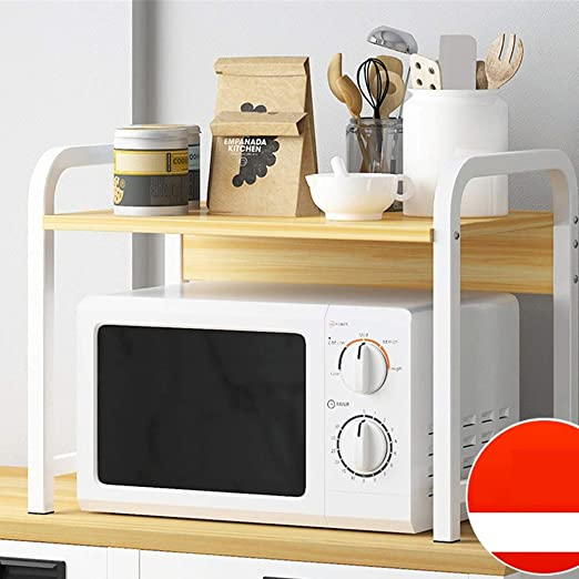 Microondas Caja Microondas Horno de Carro de Cocina Estante de la ...