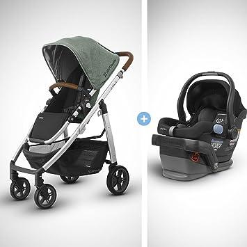 Amazon.com: 2018 UPPABaby CRUZ Stroller - Emmett (Green Melange ...