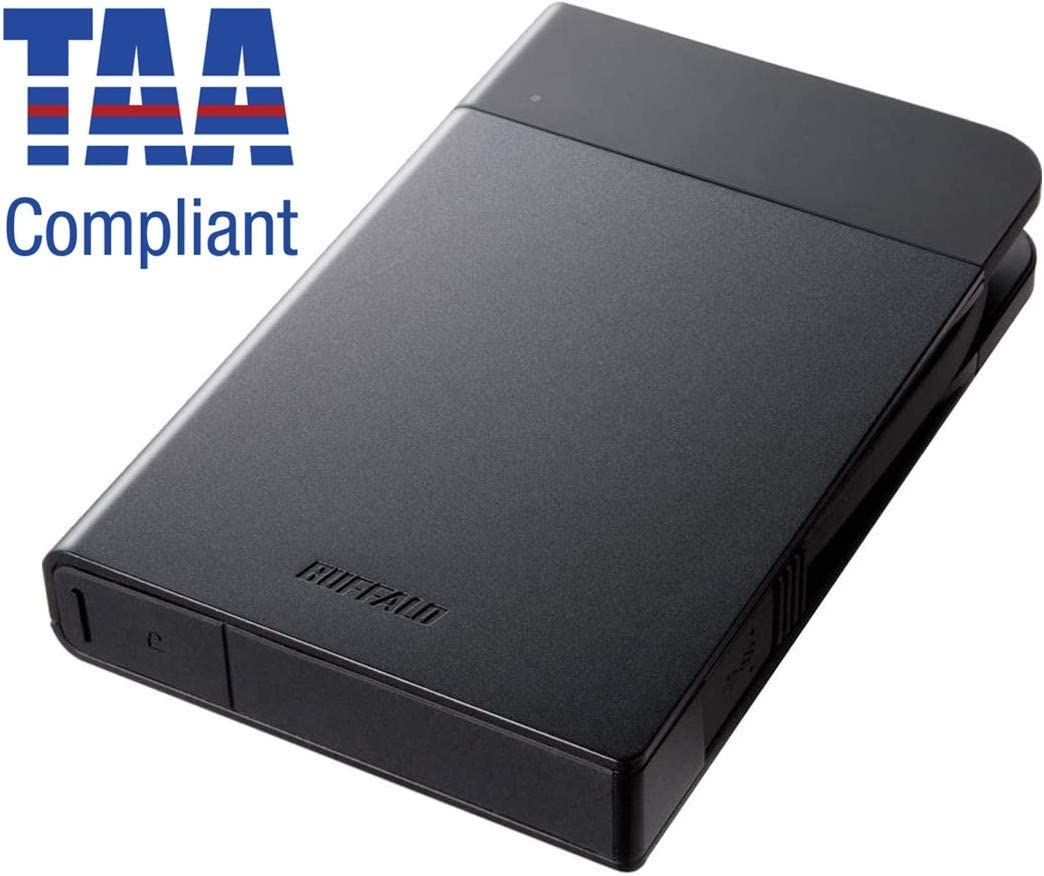 Buffalo MiniStation Extreme NFC 1 to Disque Dur Portable USB 3.0 (HD-pzn1.0u3b) 1 to Noir
