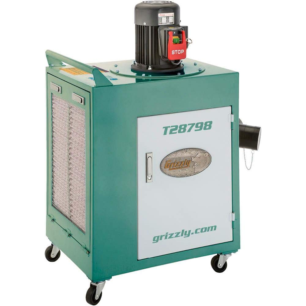 Grizzly Industrial T28798-1-1/2 HP Metal Dust Collector