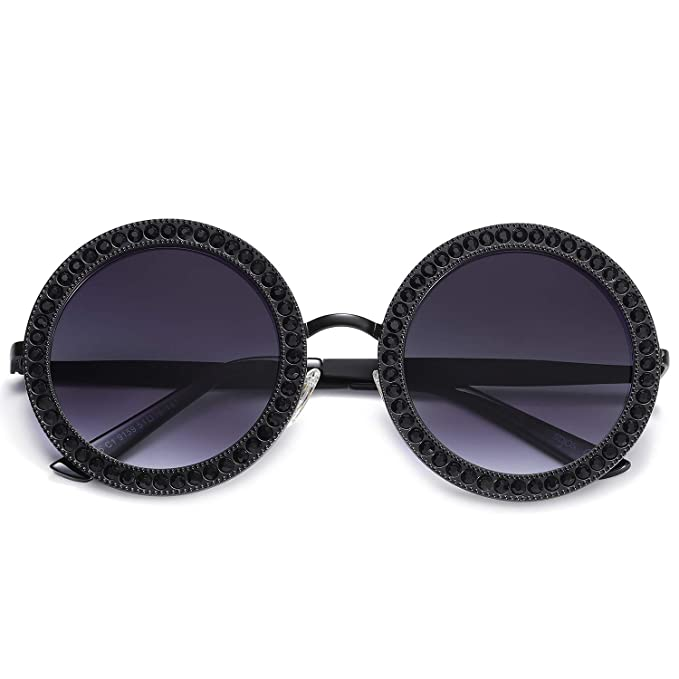 Amazon.com: SOJOS SJ1095 SJ1090 - Gafas de sol redondas con ...