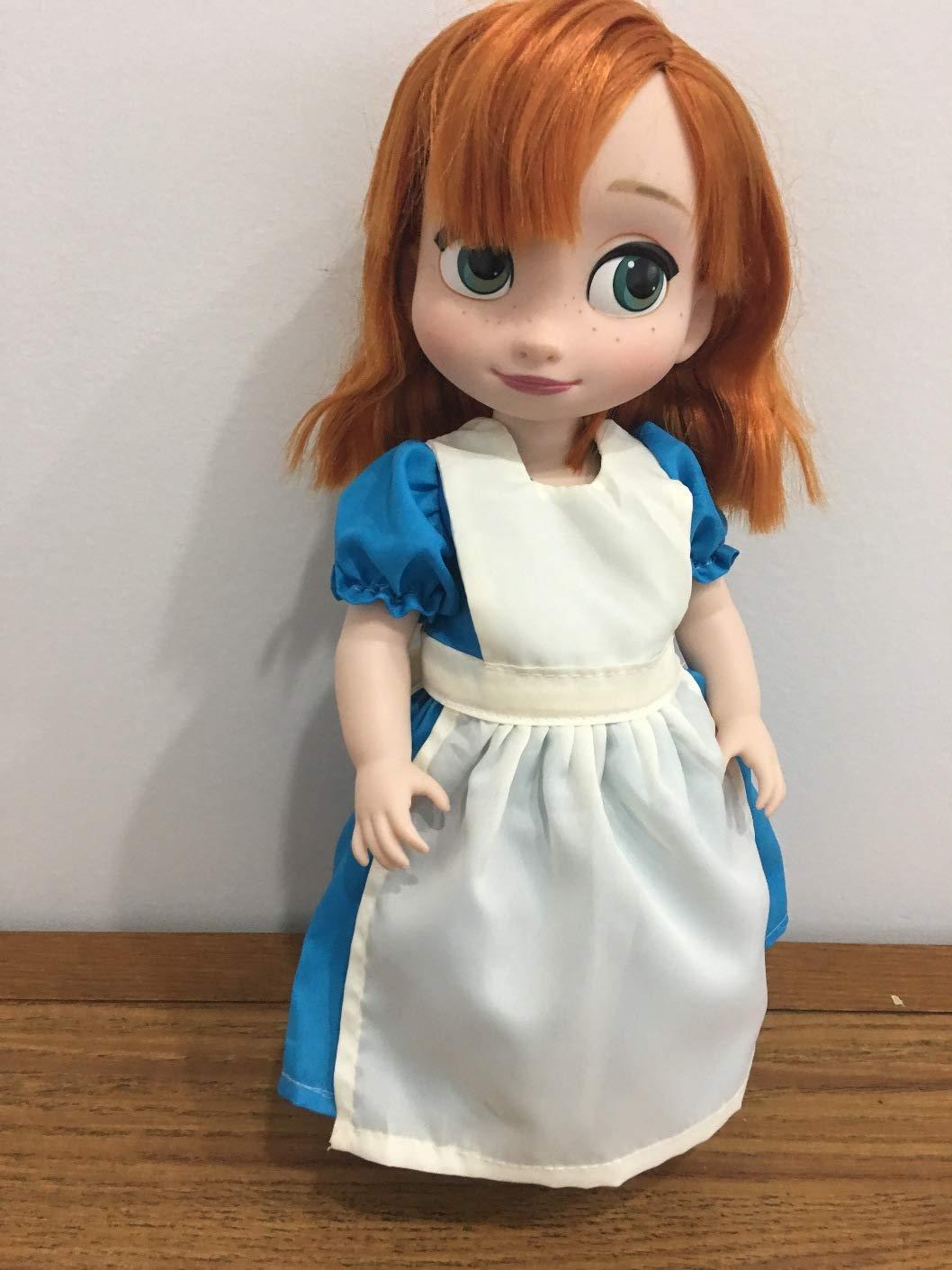 Fits 16' Disney Animators Doll Clothes Alice in Wonderland Replica Dress Blue White Costume NO DOLL