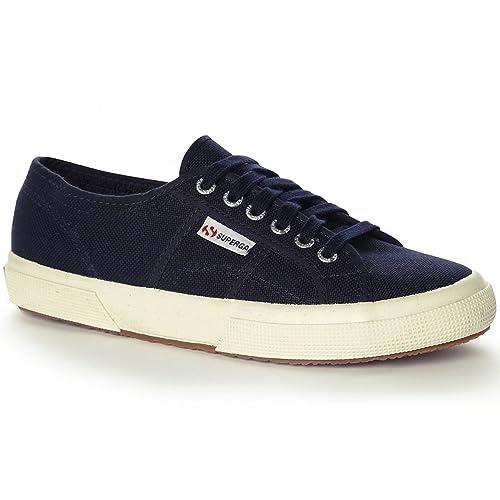 Superga - Zapatillas para hombre, color azul, talla 8 UK