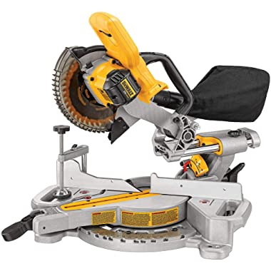 DEWALT DCS361B Sliding Miter Saw (Bare),7 1/4in