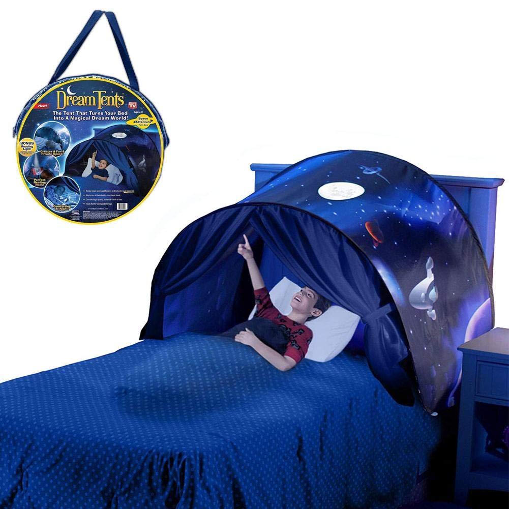 Folding Pop Up Bedroom Dream Dinosaur Island Bedding Tent Children Indoor Toy