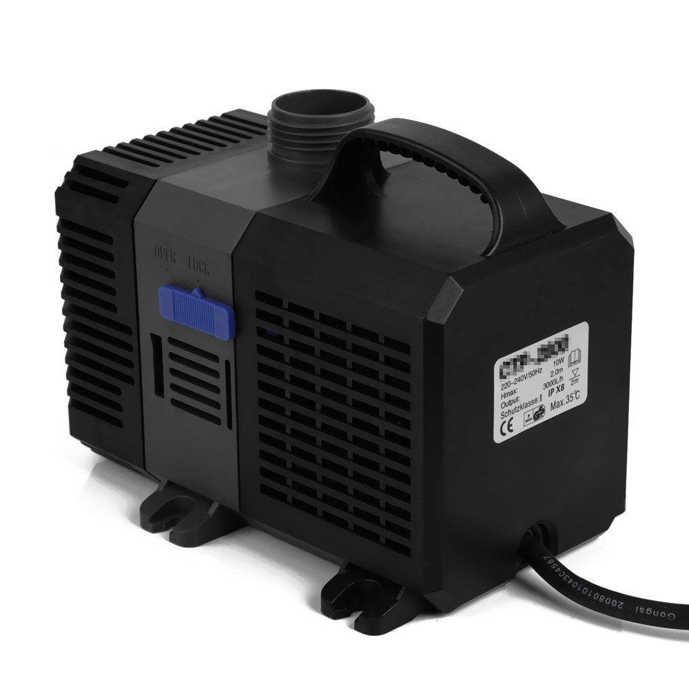 4500L//H SPEED Eco Pompe Pompe de Bassin filtrante Pompe ruisseau 3000-12000L//H