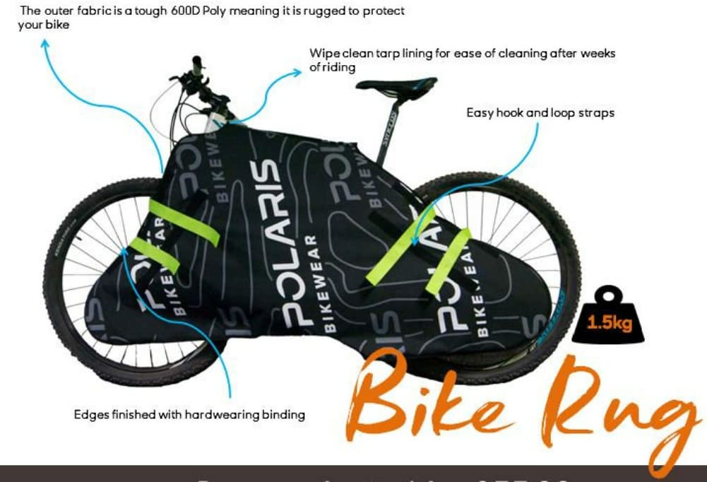 Polaris Bicycle Frame Protector Rug