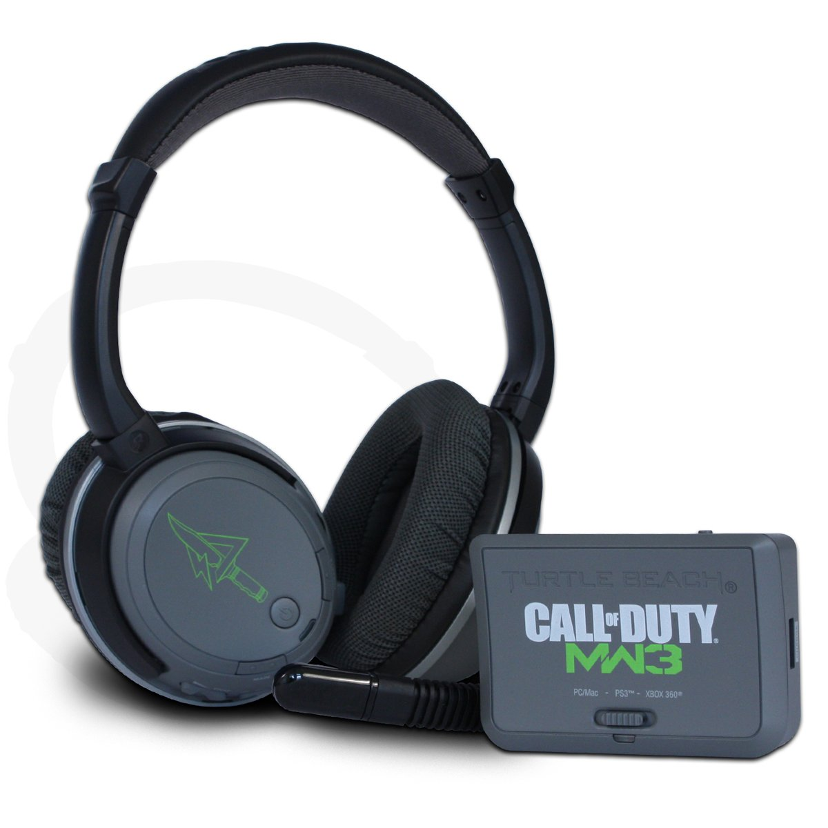 amazon com turtle beach call of duty mw3 ear force bravo limited
