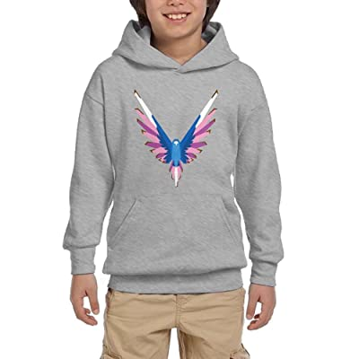 bfc21feeb514 Eric A. Collins Youth Hoodie Pullover Sweatshirt Logan Paul Same Popular  Logo Ash