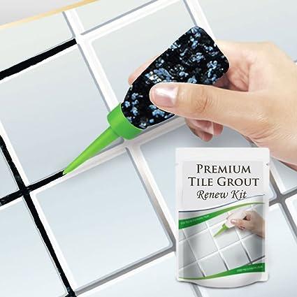 Premium Tile Grout colorant Repair Kit, Best Floor Reform refill ...