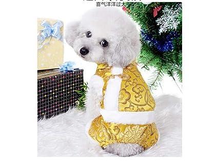 ML Ropa para Perros Mascotas Ropa de otoño e Invierno Ropa para Mascotas Cuatro pies Pata