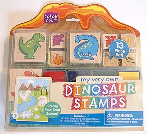 My Very Own Dinosaur Stamps - 13 Piece Set