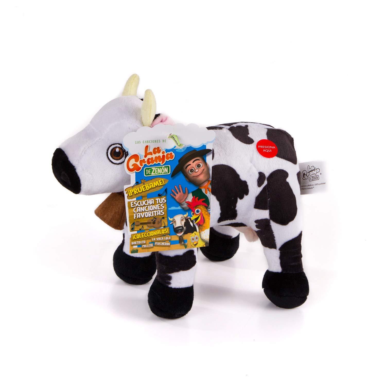 La Granja De Zenon Vaca Lola 8 in. Musical Plush Granja De Zenon El Reino Infantil