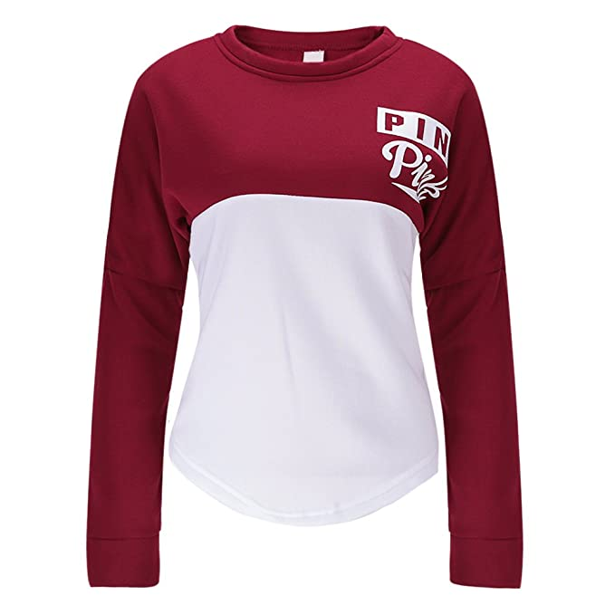 new product deb34 2b8b9 West See Damen Sweatshirts Druck Langarm Hoodies Tshirts ...