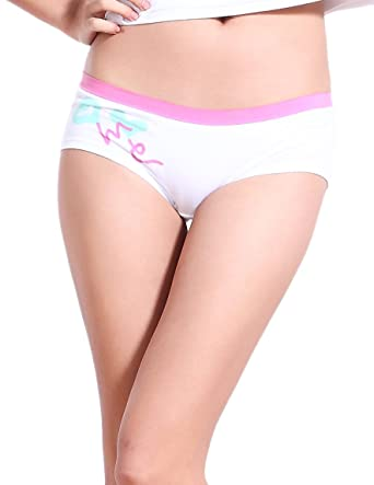 3f935a706cb8 Eve's wish Juniors Cotton Love Hipster Panty at Amazon Women's Clothing  store: