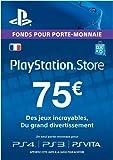 Carte Playstation Network 75 EUR | Code Jeu PSN - Compte français