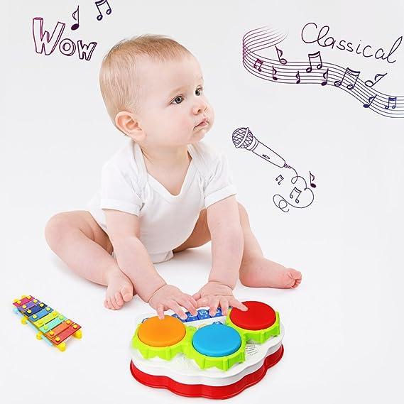 Baztoy Baby Spielzeug Klavier Musik Tastatur Kleinkind Spielzeug ...