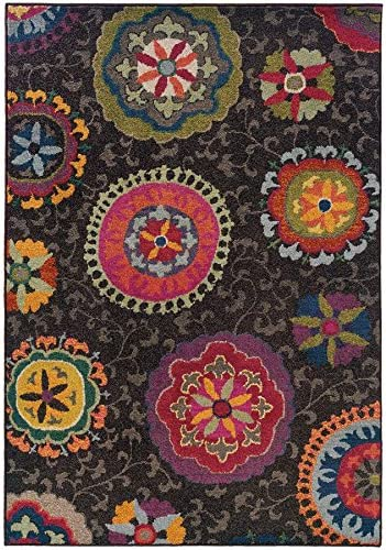 Oriental Weavers 1333N Kaleidoscope Area Rug, 9 9 x 12 2 , Multi Colored