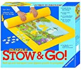 Toys : Ravensburger 17960 Puzzle Stow and Go, 1500 pieces, 46 X 26 inches