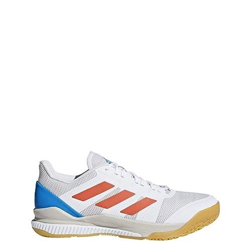 8f73f03b9 adidas Stabil Bounce Shoe Men s Handball 10 White-Solar Red-Bright Blue