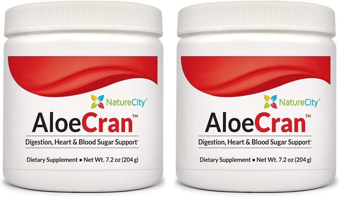 Aloe-Cran Sugar Free Cranberry Drink Mix Powder
