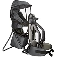 10ee1d4a80 Clevr Premium Cross Country Baby Backpack Hiking Child Carrier with Stand  and Sun Shade Visor Kid