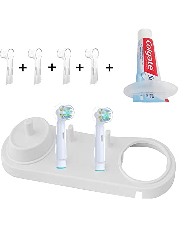 Porta cepillo de dientes Incluye 4pieza fundas para cabez eléctricos Oral-B,soporte para