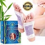 100% Natural Foot Pads, 20 Premium 2 in 1 Aromatherapy Adhesive Pads, Improves Sleep, Removes Impurities, Highest Quality Foot Patches by Natural Experience