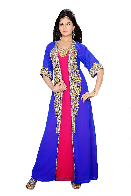 PalasFashion Gulf Style Kaftan Long Maxi Dress Women's KKPF17288