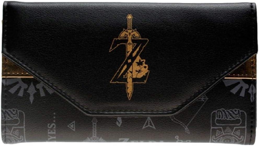Bioworld Legend of Zelda Breath of The Wild Juniors Zip Around Wallet