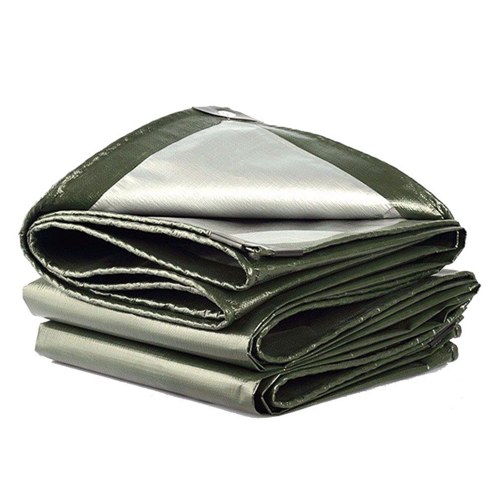 JIANFEI オーニング 防水耐寒性防風防塵ライト耐摩耗性ポリエチレン厚さ0.35mmカスタマイズ可能 (色 : Green, サイズ さいず : 5.8x7.8m) B07FY6MWVB 5.8x7.8m Green Green 5.8x7.8m